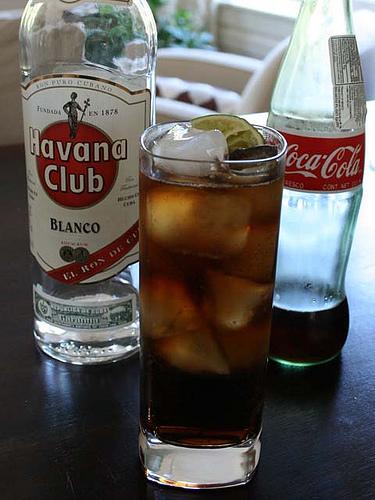 drinks med hvid rom